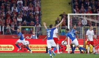 Polonia-Italia 0-1, Biraghi premia la rivoluzione di Mancini