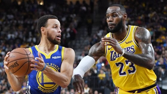 Basket Nba, si riparte: il pronostico dice ancora Golden State