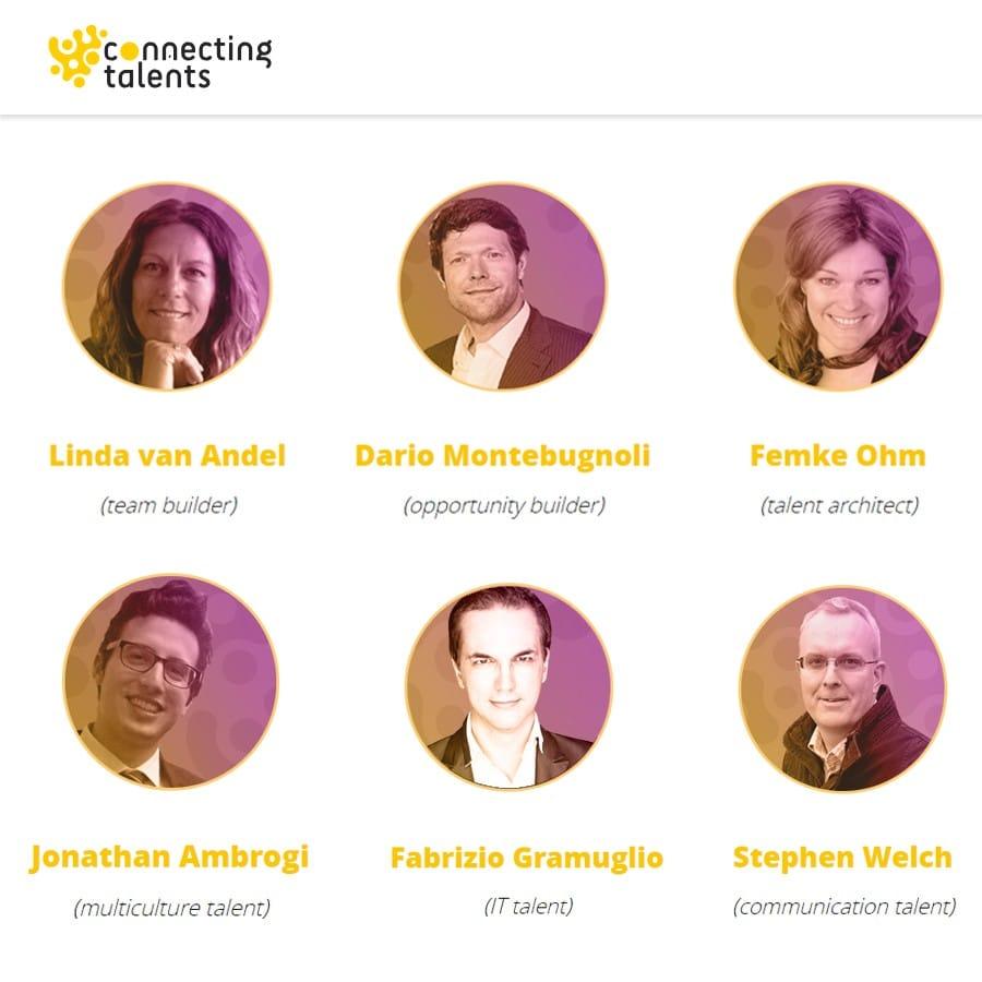 Gli ideatori e fondatori di Connecting Talents
