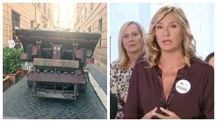 Myrta Merlino contro netturbino:lo sfogo in tv della giornalista
