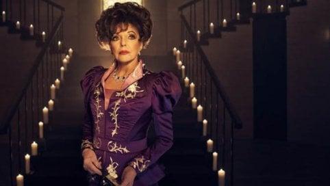 """Joan Collins, diva e cattiva: """"Vi farò tremare con American Horror Story"""""""