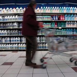 Inflazione rivista al ribasso: +1,4% a settembre