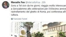 """Deportazione ghetto di Roma, Mattarella: """"Ferita insanabile, svuotare depositi di intolleranza"""""""