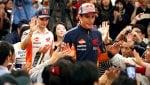 Marquez, primo match ball in Giappone: ''Calma''