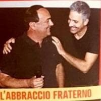 """""""Sei stato scomodo perché hai il volto della Calabria giusta"""": l'abbraccio di Fiorello a..."""