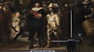 Rembrandt, restauro show