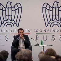 """Russia, Salvini: """"Qui mi trovo a casa, in certa Europa no"""". E sulle sanzioni: """"Assurdità..."""
