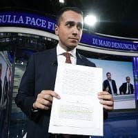 """Manovra, Di Maio: """"Sulla pace fiscale al Colle un testo manipolato. Denuncio"""". Il..."""
