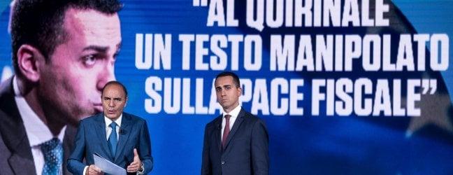 """Di Maio: """"Sulla pace fiscale al Colle un testo manipolato. Denuncio"""". Il Quirinale: """"Mai ricevuto"""". Lega: """"Noi siamo seri"""""""
