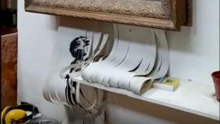 """Banksy, nuovo video: """"Ecco cosa doveva succedere al mio quadro"""""""