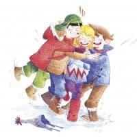 Il calore della neve: l'inverno norvegese che alimenta l'amicizia