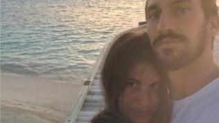 """""""Qualcuno ha fermato il mio viaggio"""": la compagna di Astori torna sui social"""