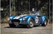 Le Ac Cobra esposte al salone Auto e Moto d'Epoca di Padova