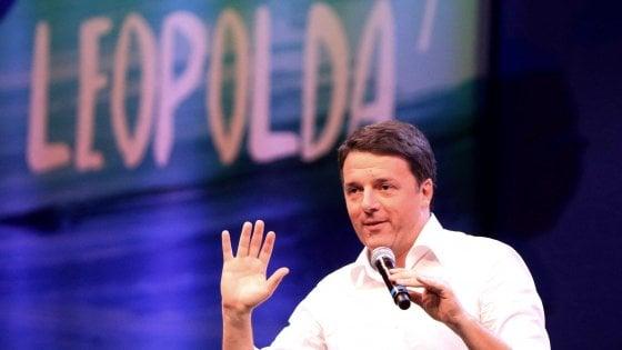 Matteo Renzi chiude la Leopolda 2018: