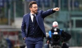 Roma, Di Francesco: ''Guai a sottovalutare la Spal''. Out Kolarov e De Rossi