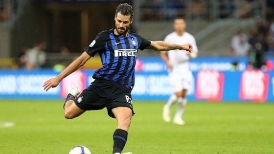 """Inter, Candreva in vantaggio su Politano. Skriniar: """"Vogliamo vincere il derby"""""""