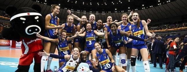 Grande Italia: le azzurre volano in finale.  Cina battuta in un tie break al cardiopalma foto