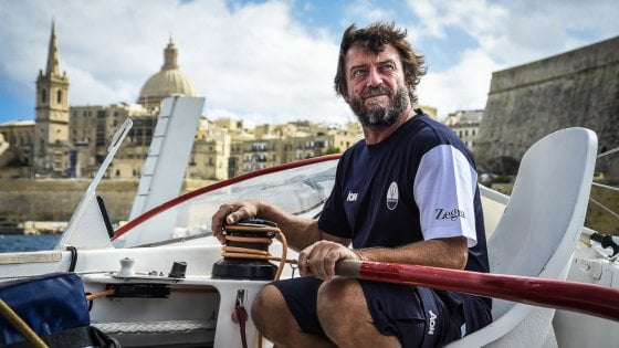 Vela, Soldini alla Rolex Middle sea Race: sul trimarano volante per il record