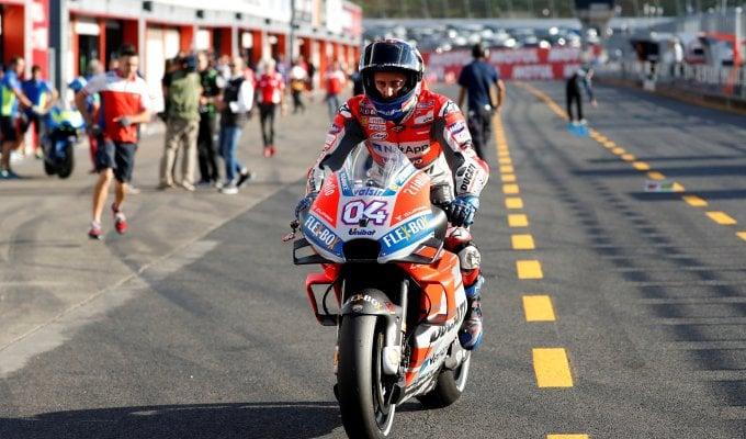 MotoGp, Dovizioso in pole in Giappone. Marquez in seconda fila