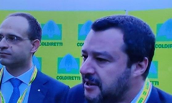 Matteo Salvini oggi a Cernobbio