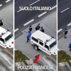 """Francia: il video mostrato da Salvini mostra """"un respin"""