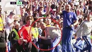 L'esultanza in faccia che hafatto inviperire Mourinho