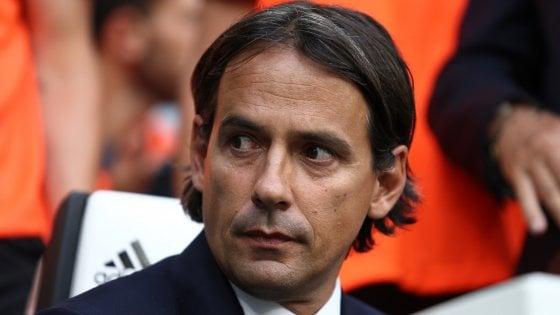 """Lazio, Inzaghi: """"A Immobile non rinuncio: tocca a lui far cambiare idea a Mancini"""""""