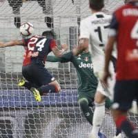 Juventus-Genoa 1-1: stavolta Ronaldo non basta, Bessa firma l'impresa