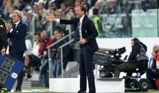 """Juventus, Allegri: """"Usciti come mai dalla partita, ma questo pari ci farà bene"""""""