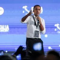 """Di Maio passa all'incasso al Circo Massimo: """"Ha vinto l'onestà. Voglio la vostra felicità"""""""