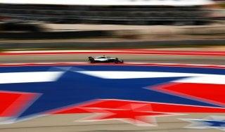 F1, Gp Usa: pole di Hamilton, Ferrari in prima fila con Raikkonen