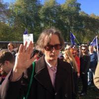 """Londra, manifestazione no-Brexit. Jarvis Cocker: """"Il nostro Paese è spaccato"""""""