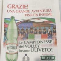 """Ragazze del volley, dalla pubblicità Uliveto sparisce Paola Egonu. L'azienda: """"Una..."""
