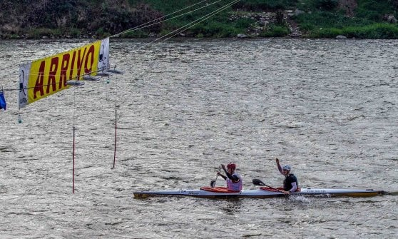 Canoa, trionfo tedesco all'Adigemarathon