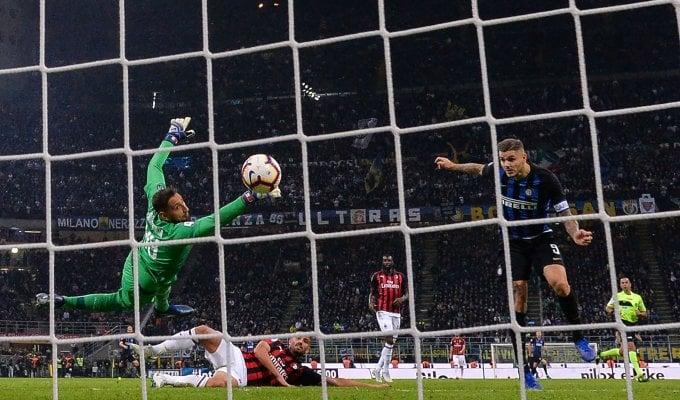 Icardi gol al 92': l'Inter piega il Milan 1-0