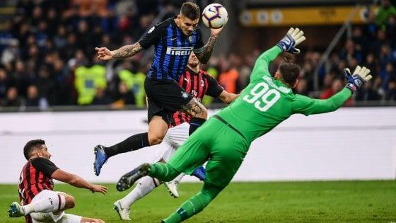Inter-Milan 1-0: Icardi, urlo al 92'