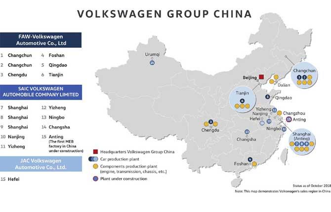 La Cina pensa elettrico. E Volkswagen investe