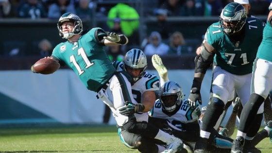Nfl, Newton mette nei guai gli Eagles. E stanotte il ritorno di Tavecchio