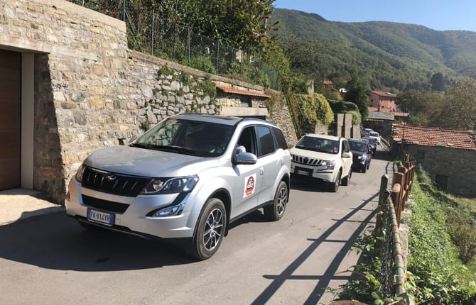 Mahindra XUV500,passione off road