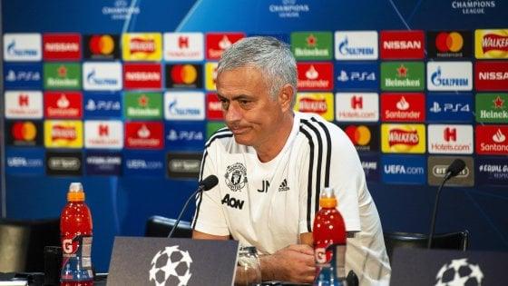 "Manchester United, Mourinho lancia la Juve: ""Candidata a vincere la Champions"""