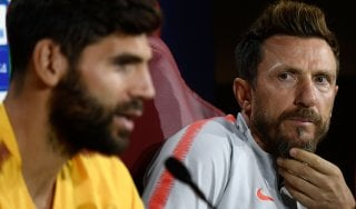 Roma, Di Francesco: ''Alti e bassi mi tormentano, voglio la cattiveria''