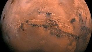 """""""L'acqua di Marte è ricca di ossigeno"""". Lo studio Usa conferma la scoperta italiana"""