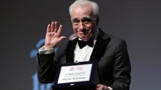 """Scorsese e i maestri italiani: """"I loro film raccontano la vita vera"""""""