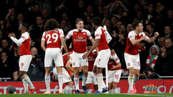 Premier League, Arsenal-Leicester 3-1: i Gunners agganciano il Chelsea al terzo posto