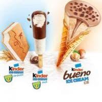 Ferrero e Unilever lanciano i gelati Kinder: in Italia dalla prossima estate