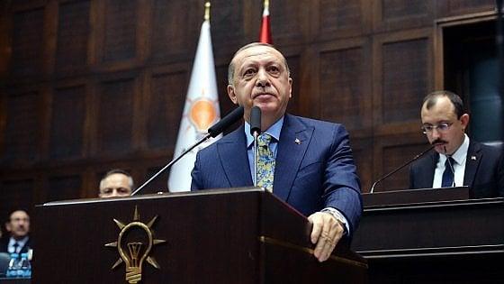 """Khashoggi, Erdogan: """"E' stato un brutale omicidio politico, pianificato"""""""