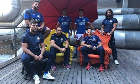 Rugby, l'Italia si fa in due per i test match. Parisse: ''Mai vista tanta qualità''