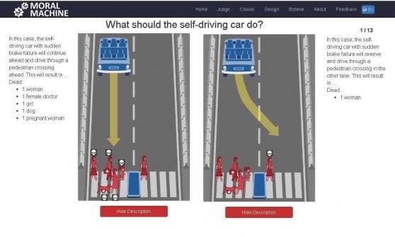 Chi salvi in caso di incidente? Così programmeremo le auto a guida autonoma