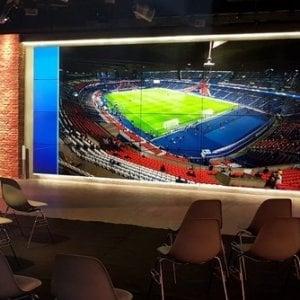Champions e buffet: i parlamentari nella sede di SkyTg24 a vedere le partite