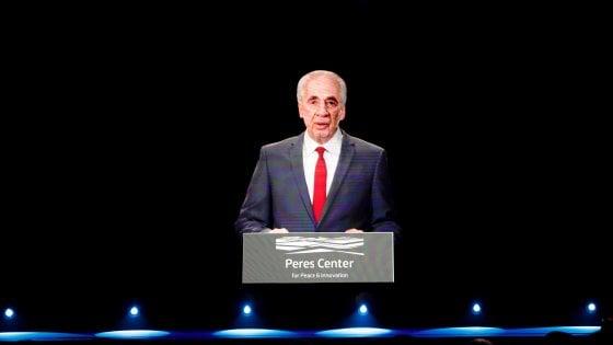 """Israele, il """"fantasma"""" di Shimon Peres al convegno delle start-up"""